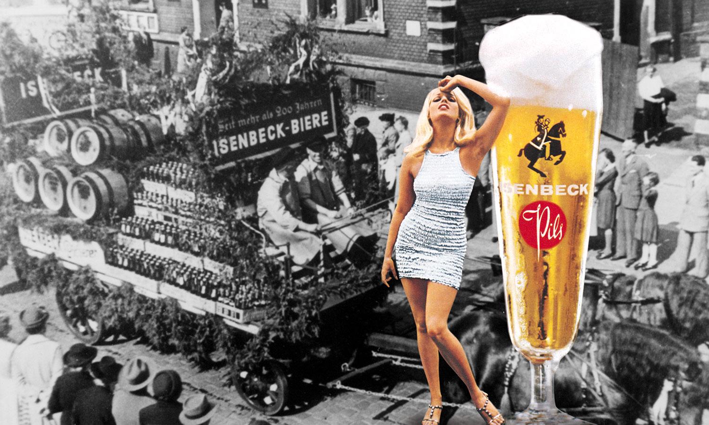 Isenbeck Premium Pils Glas historisch