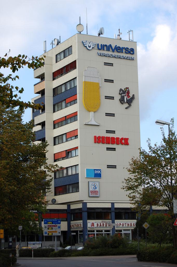 Universa Isenbeck Glas